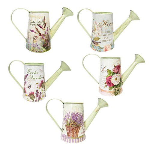 Decorative tin watering can (lots of styles to choose from)