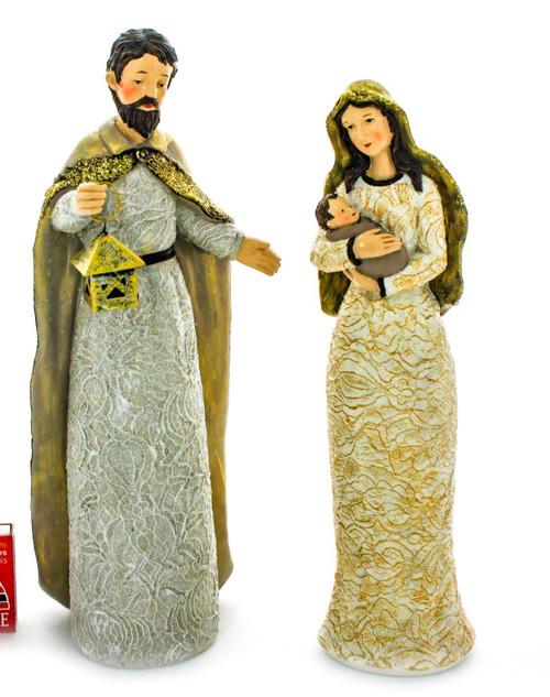 nativity scene - 2 piece - large