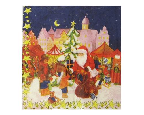 Paper Napkins - Santa Gifts