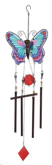 Butterfly wind chime (asstd colours available)