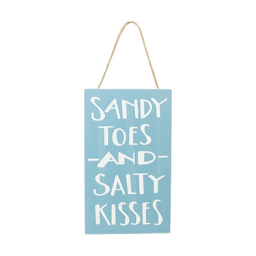 Beach Life hanger - Sandy toes and Salty kisses