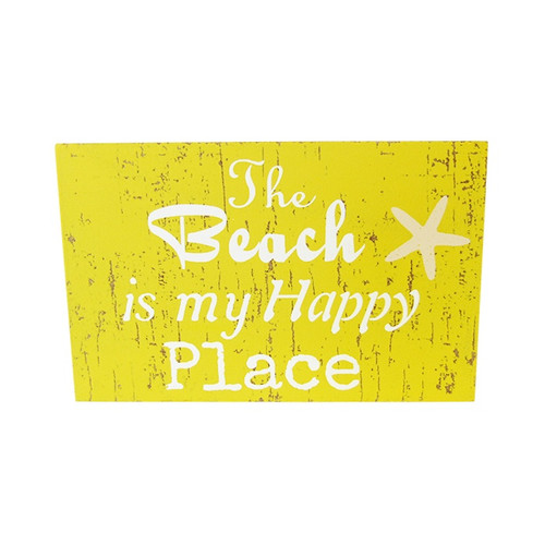 beach theme magnet - The beach is my happy place