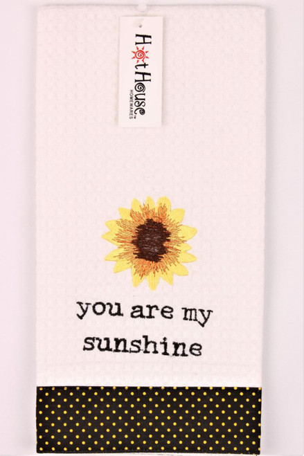 Funny Tea Towels - You are my sunshine