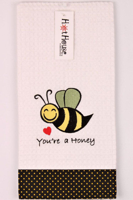 Funny Tea Towels - You're a Honey