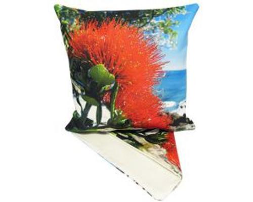 NZ Pohutukawa Blossom - cushion Cover