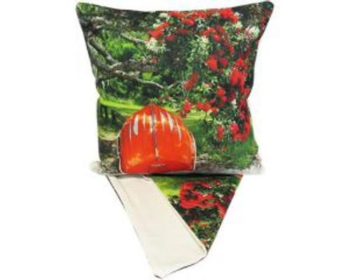 NZ Beachside Boat - cushion cover