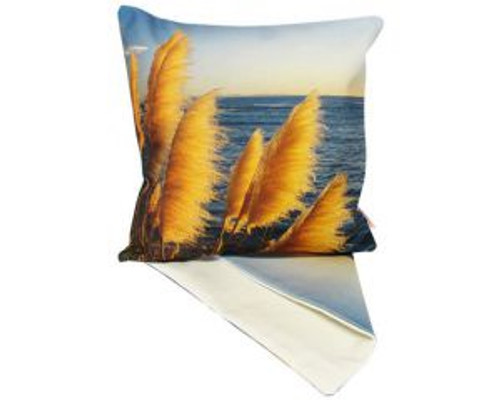 East Coast ToeToe near sea - cushion Cover