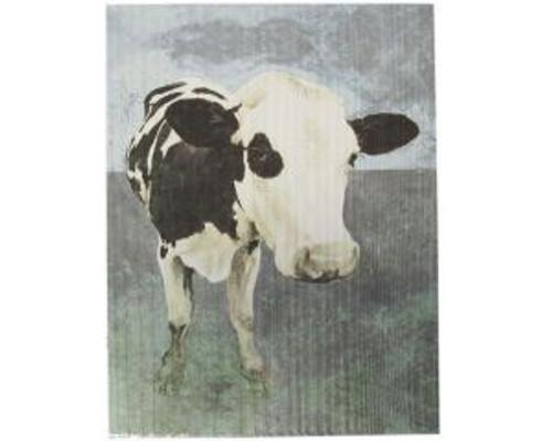 Textured Art - Freisian Cow