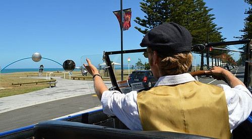 Napier Vintage Car Tour - Deco City Tour - 60 minutes,
