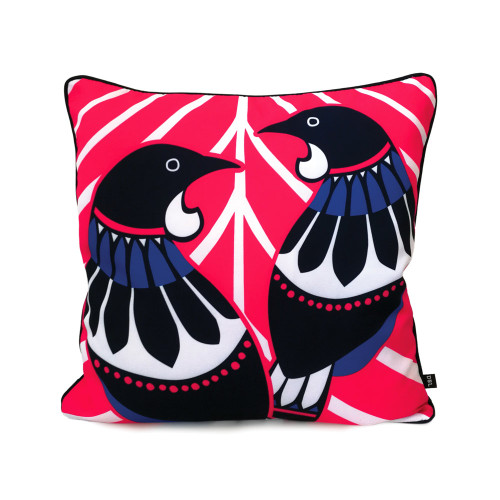 Two Tui design on Cushion Cover