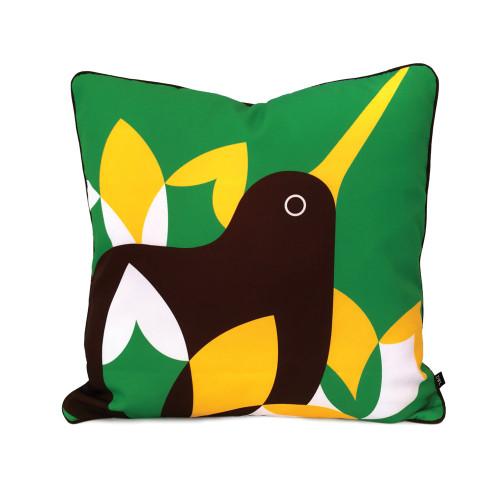 Iconic NZ native Kiwi - cushion cover
