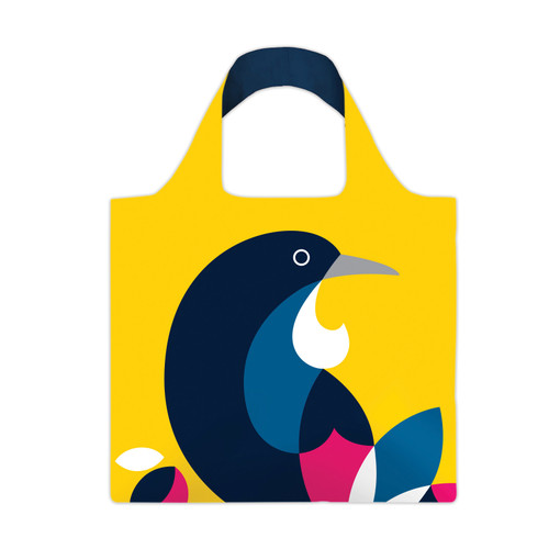 re-usable carry bag - iconic NZ native Tui
