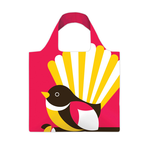 re-usable carry bag - iconic NZ native Fantail