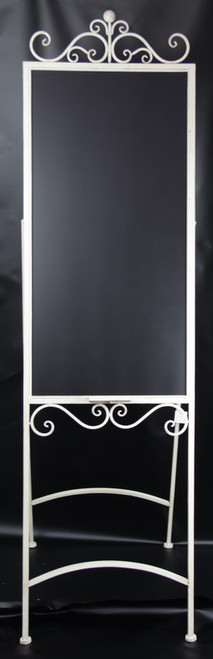 Large floor standing blackboard (comes in antique white or grey)