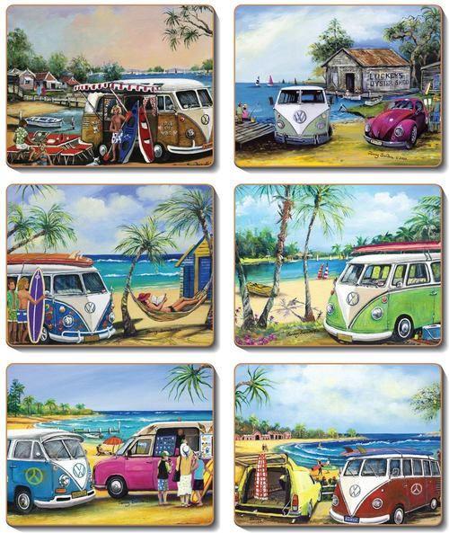 Coaster - 6 x different Kombi scenes