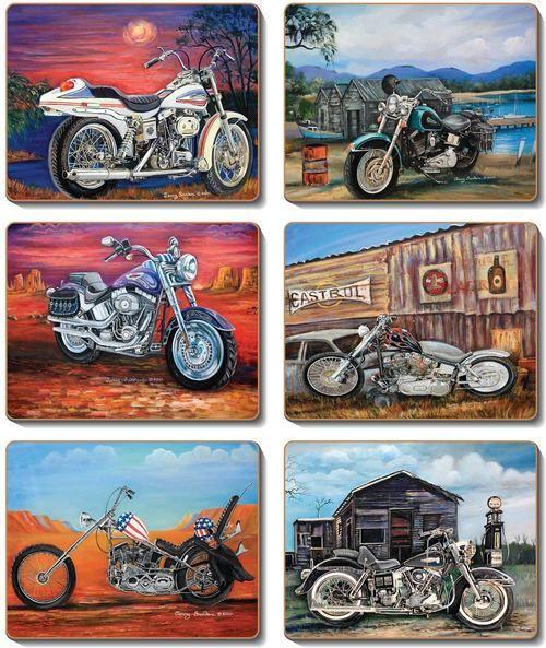 Coaster - 6 x American Classic Bikes