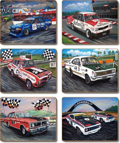 Coaster - 6 x Classic Bathurst scenes