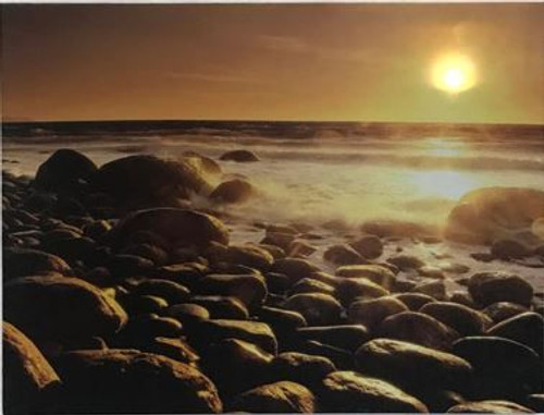 """LED lit canvas 30 x 40cm - """"Down to Earth"""""""