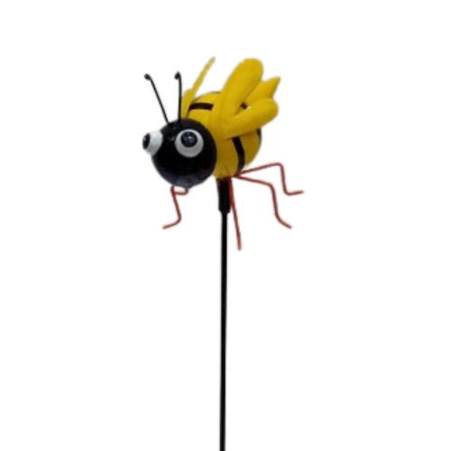 Garden Stake - Metal Honey Bee