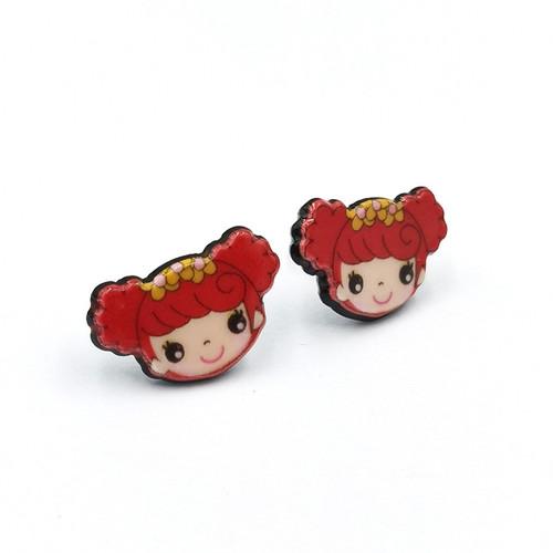 Cute little girl earrings