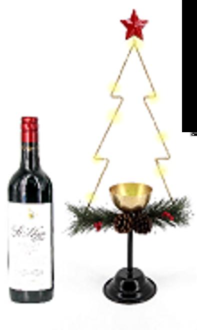 Light Up Wire Christmas Tree