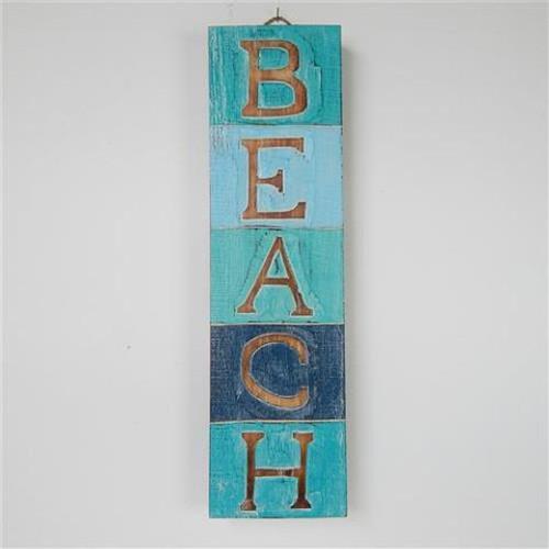 Beach Block sign