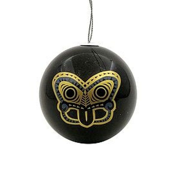 Tiki Gold Christmas Bauble