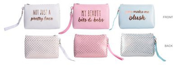 Glamour Make Up Bags (12 x 17 x3)