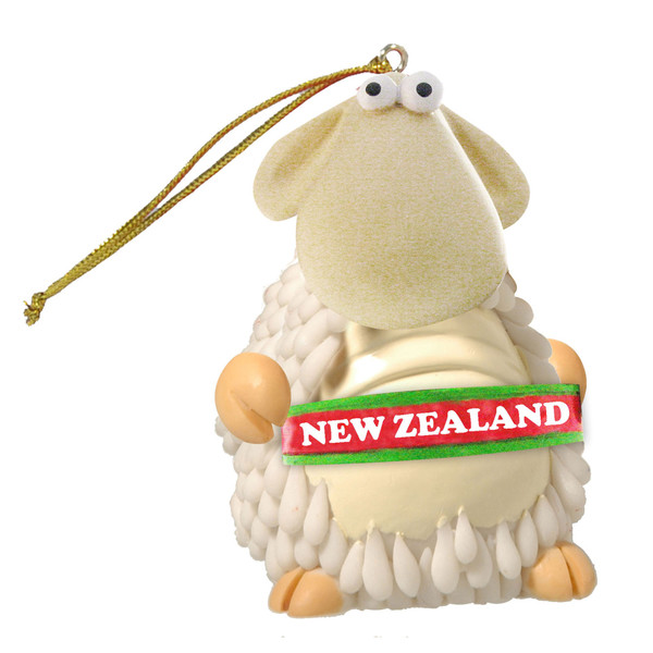 nz sheep hanging with nz sign
