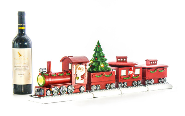 Christmas train figurine