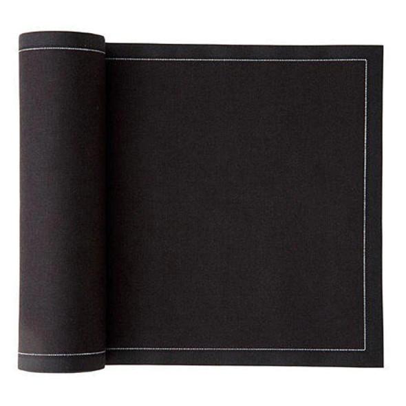MY Drap Canape Napkin Black Roll