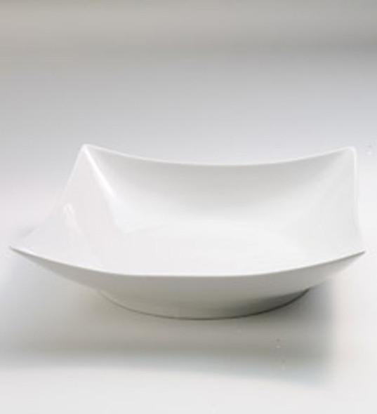 "Serving Bowl Square White 13"""