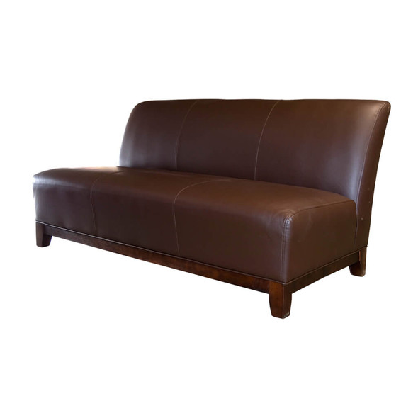 Club 3 Seater Sofa - Cocoa Brown