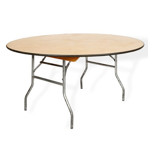 6ft Round Table (Folding)