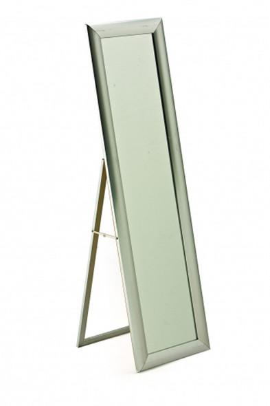 Freestanding Mirror Chrome Frame
