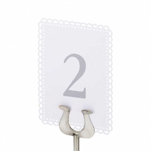 Table Number Stand Round Base 18in