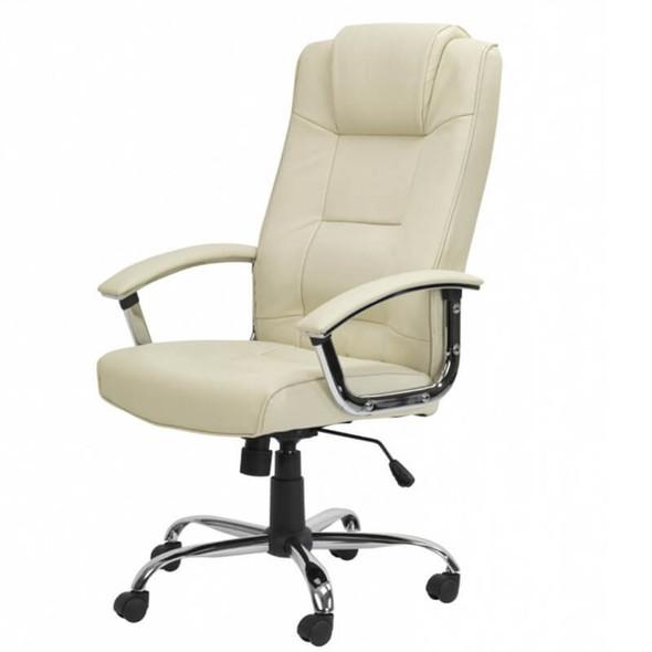 Executive Swivel Chair Cream
