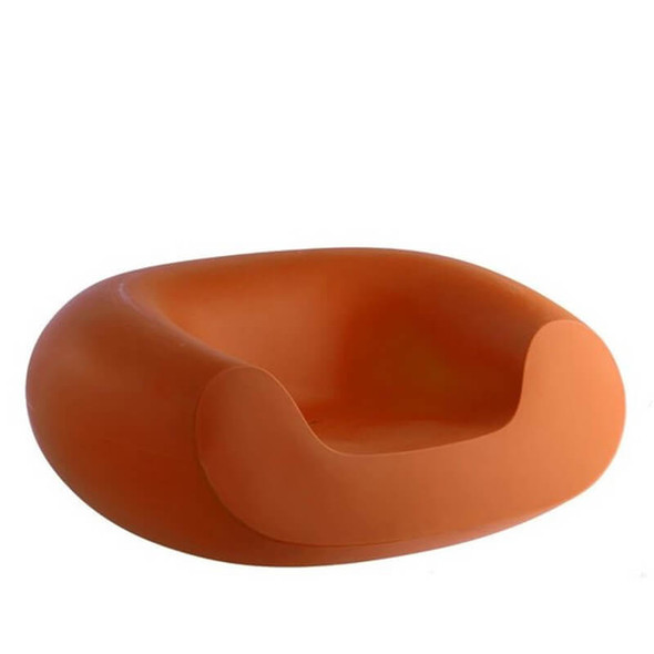 Chubby Armchair Orange