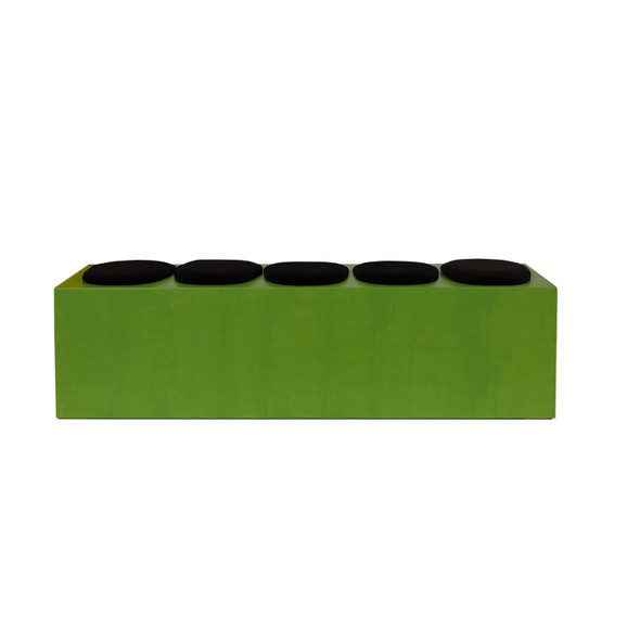 Smartie Bench Lime Green (5 seater)