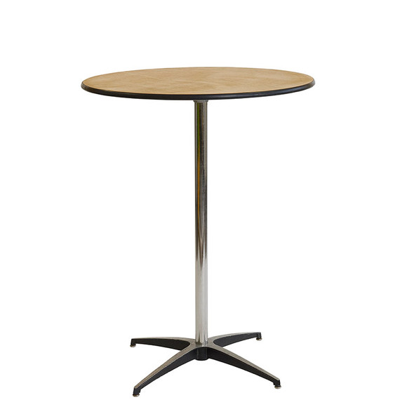 Pod Table Birch Round –Tall