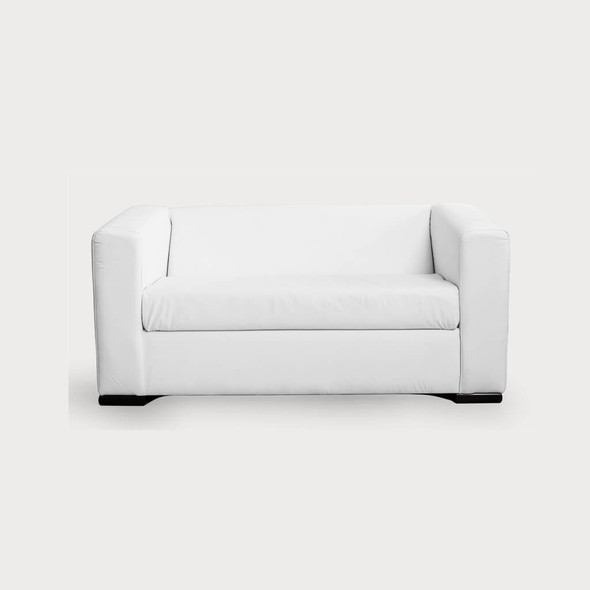 Alaska 2 Seater Sofa -White