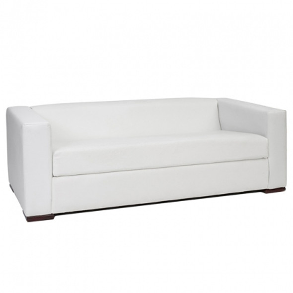 Alaska 3 Seater Sofa - White