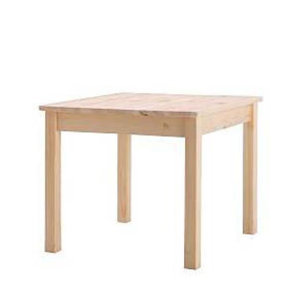 Block Wooden Coffee Table in Oak Effect