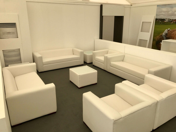 Alaska Square Coffee Table - White