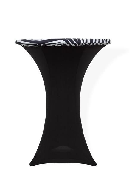 Spandex Pod Table Topper Animal Print