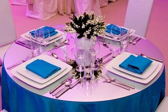 """White Square Dinner Plate 12"""""""