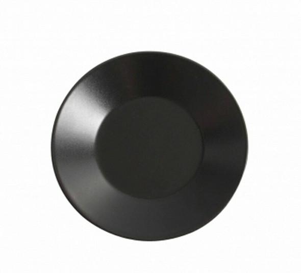 "Black Pasta Plate 11"""