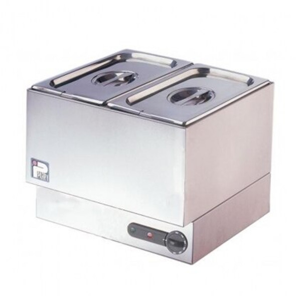 Bain Marie 2 Well with Hot Plate