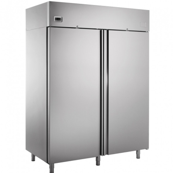 Freezer Double Door Stainless Steel