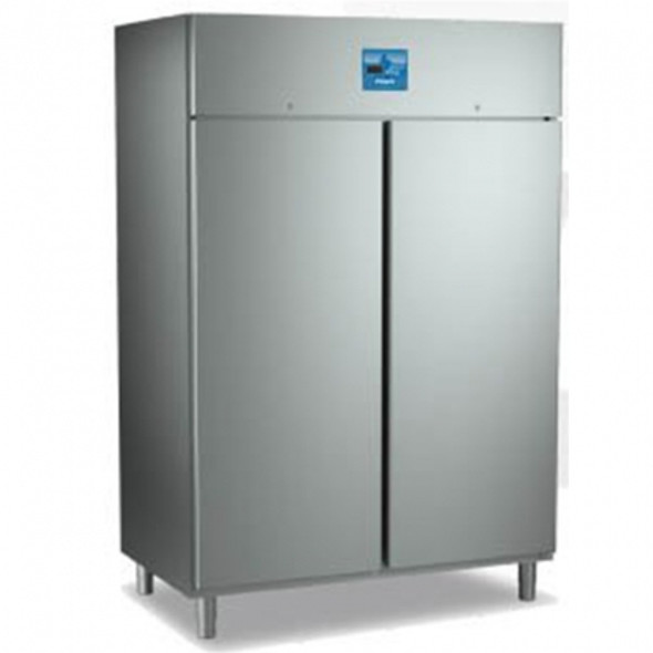 Fridge Gastro Double Door Stainless Steel